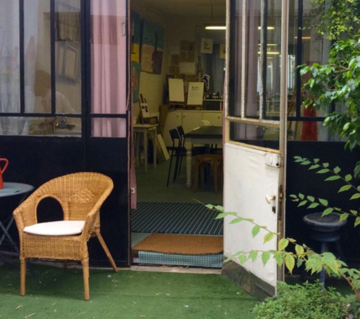 L'atelier : Art thérapie - Marie Leberquier