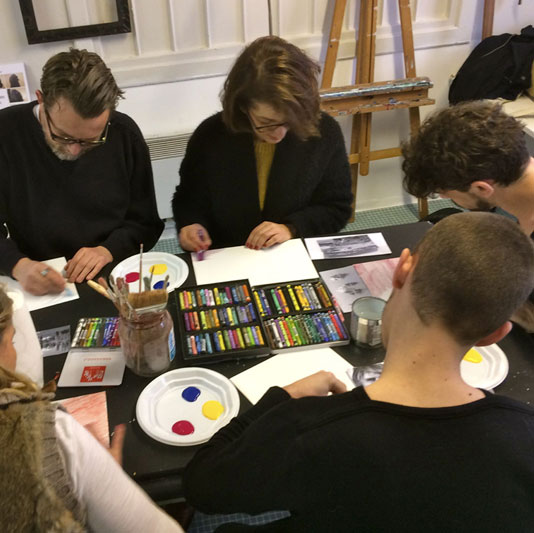 Visuel groupe : Art thérapie - Marie Leberquier