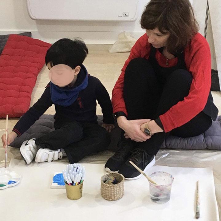 Visuel individuellement : Art thérapie - Marie Leberquier